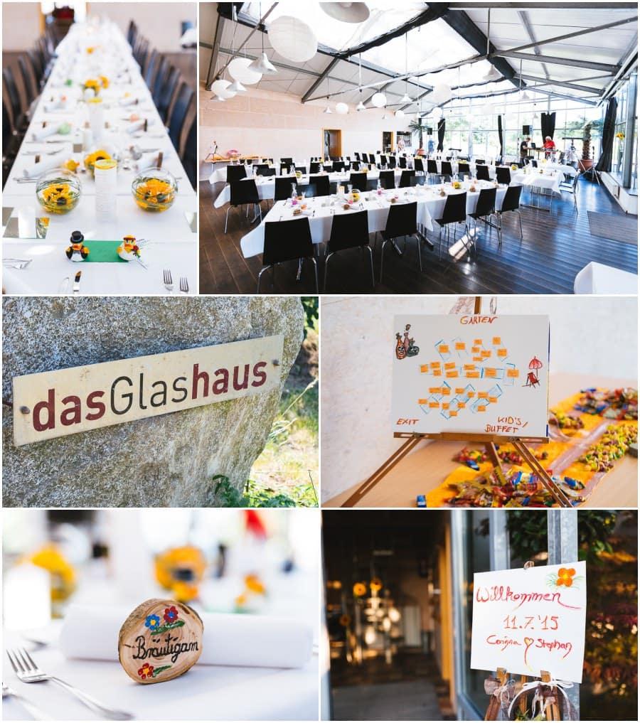 Hochzeit Glashaus Tettnang
