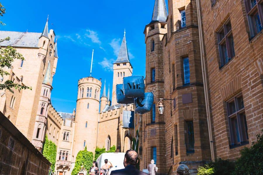 Burg Hohenzollern Hochzeit