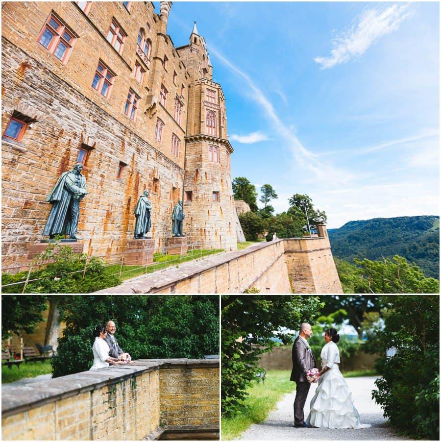 Schloss Hochzeitsfotograf Hohenzollern