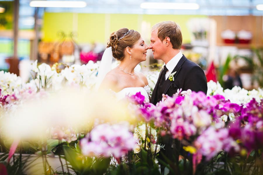 Brautpaarshooting Blumen Schupp