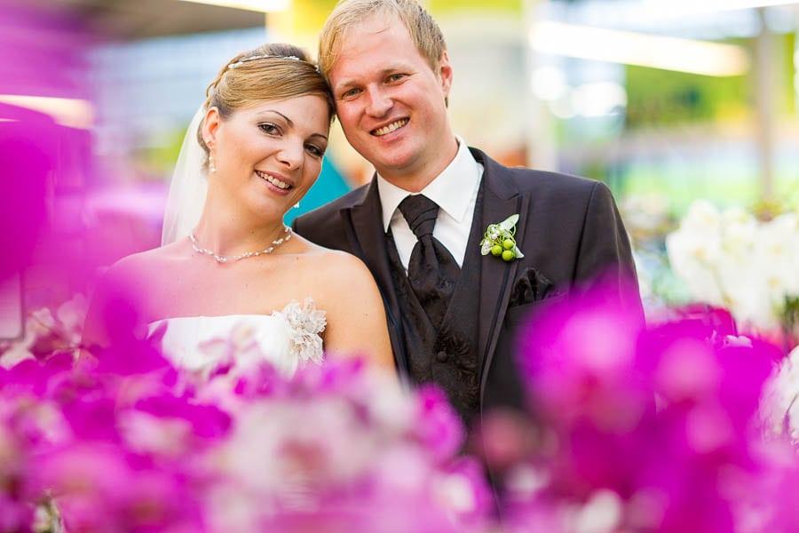 Hochzeitsshooting im Blumen Schupp