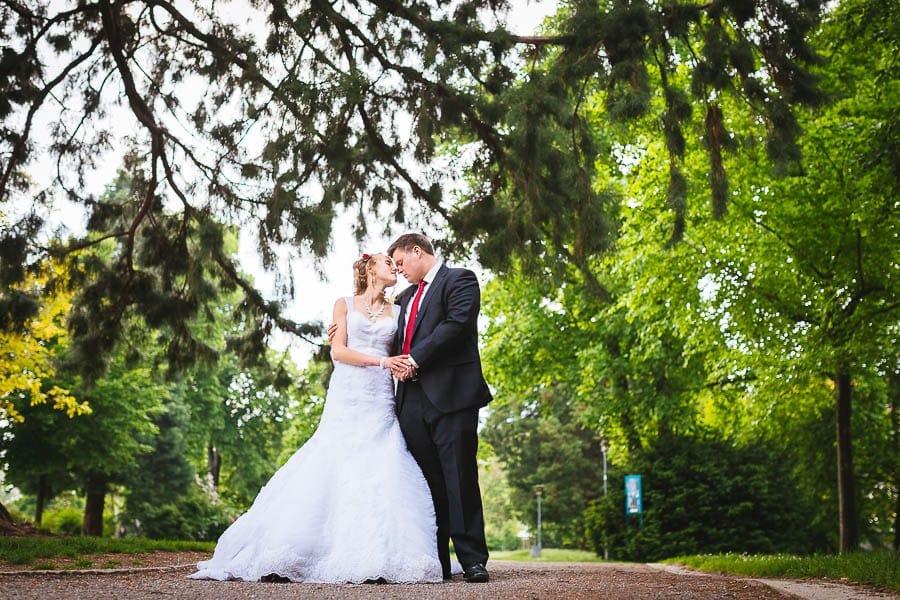 Hochzeit im Stadtpark
