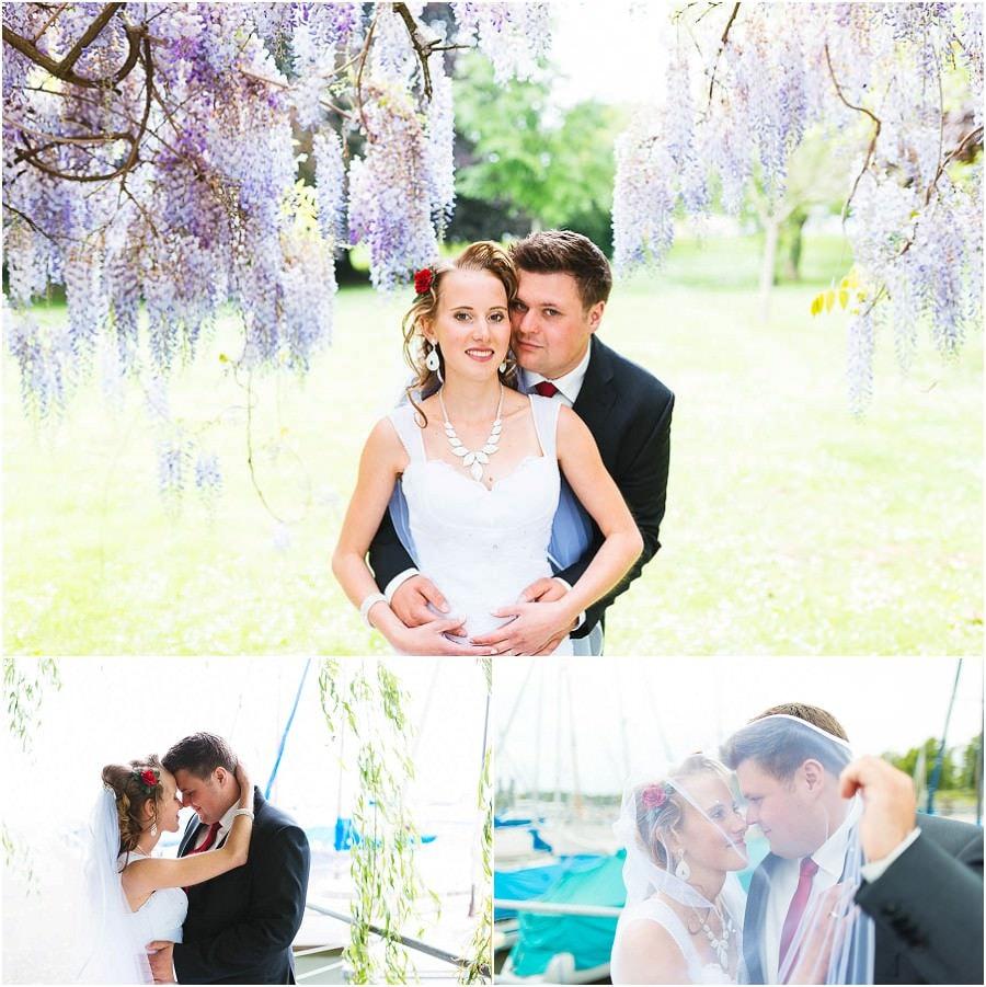 Hochzeitsfeier Schlosspark