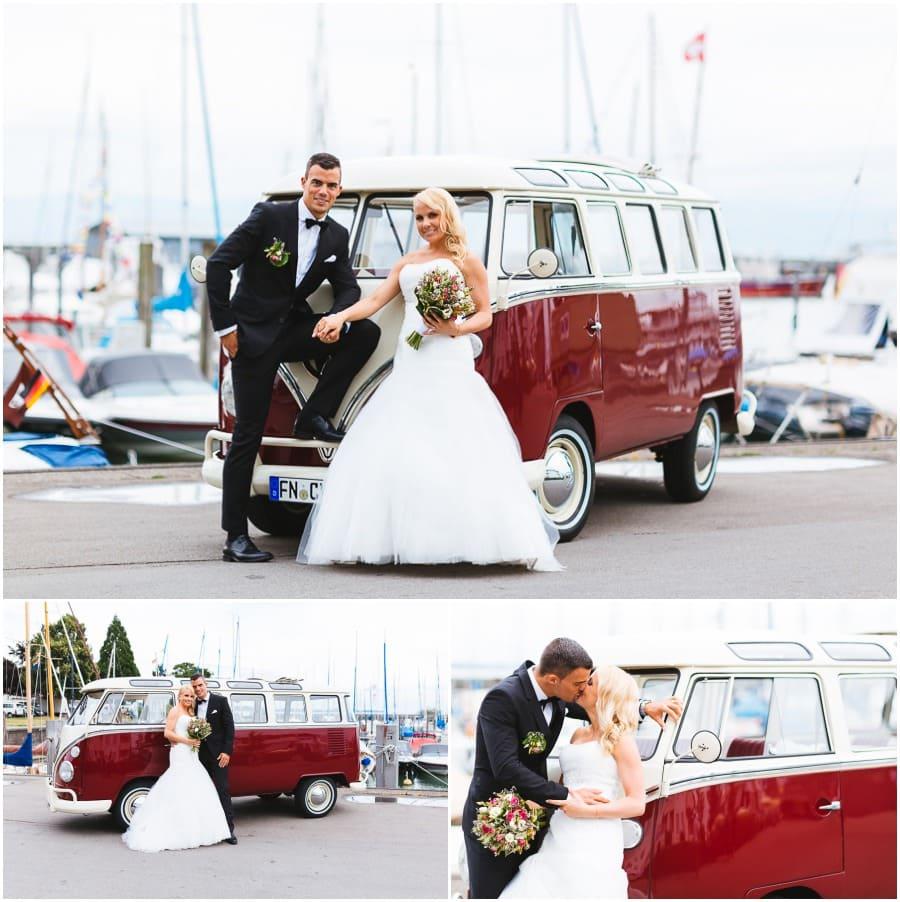 VW Bully Hochzeit
