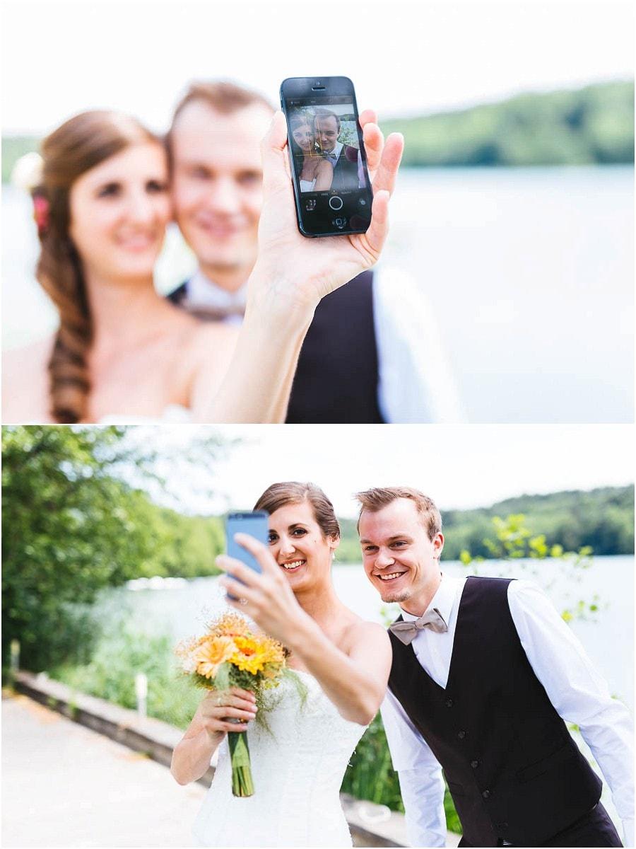 Schleinsee Iphone Hochzeit