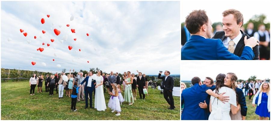 Baloons Hochzeit