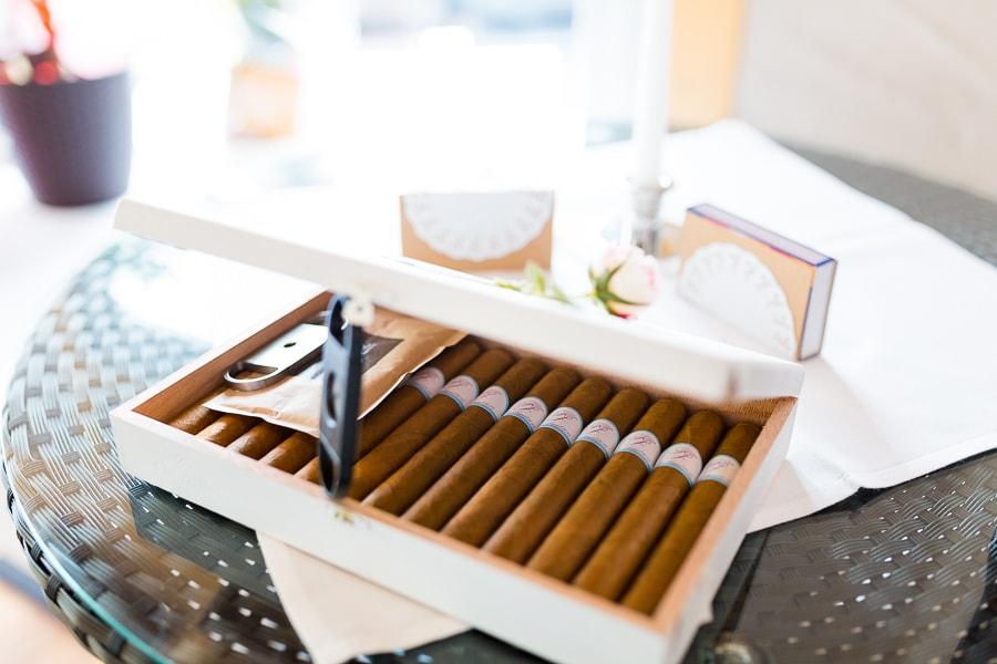 Zigarren Hochzeit