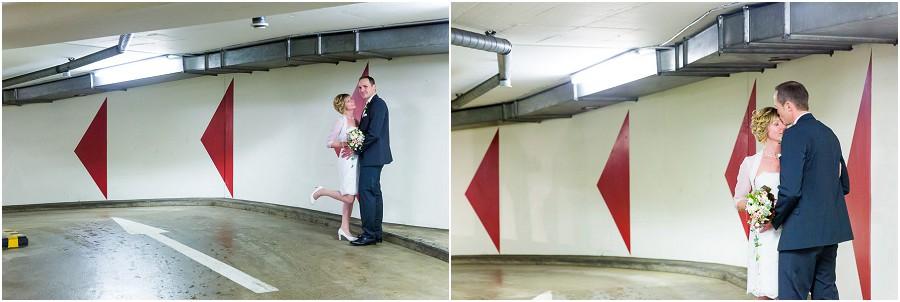 Hochzeit Parkhaus