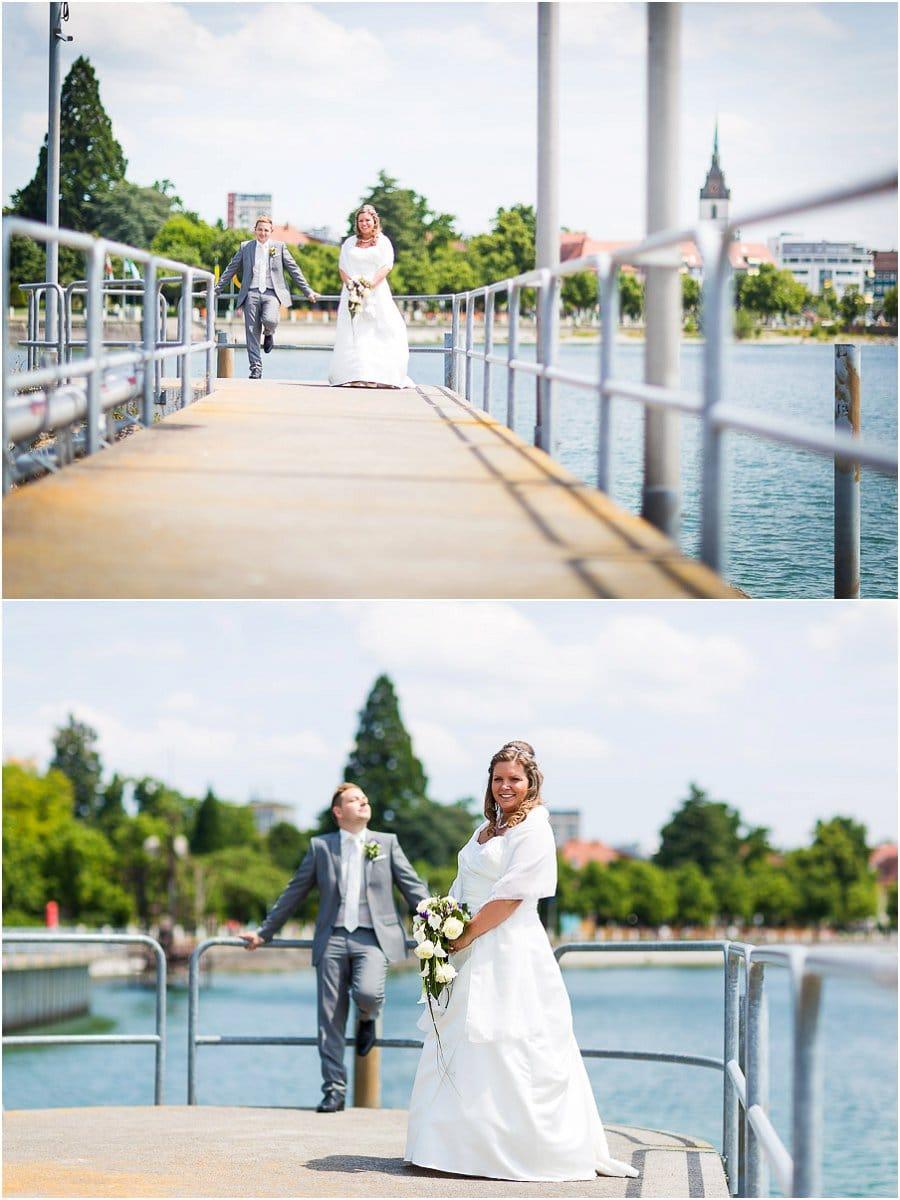 Hochzeit hafen