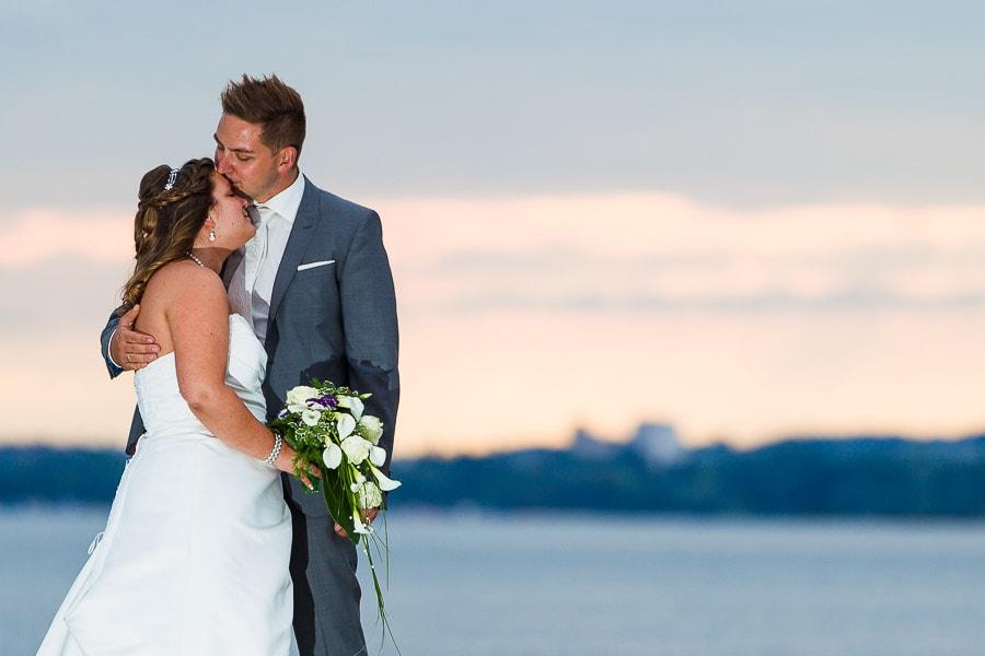 Brautshooting im Strandbad