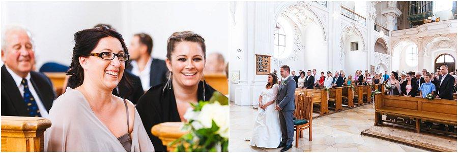 Ramona und Jacky Schlosskirche