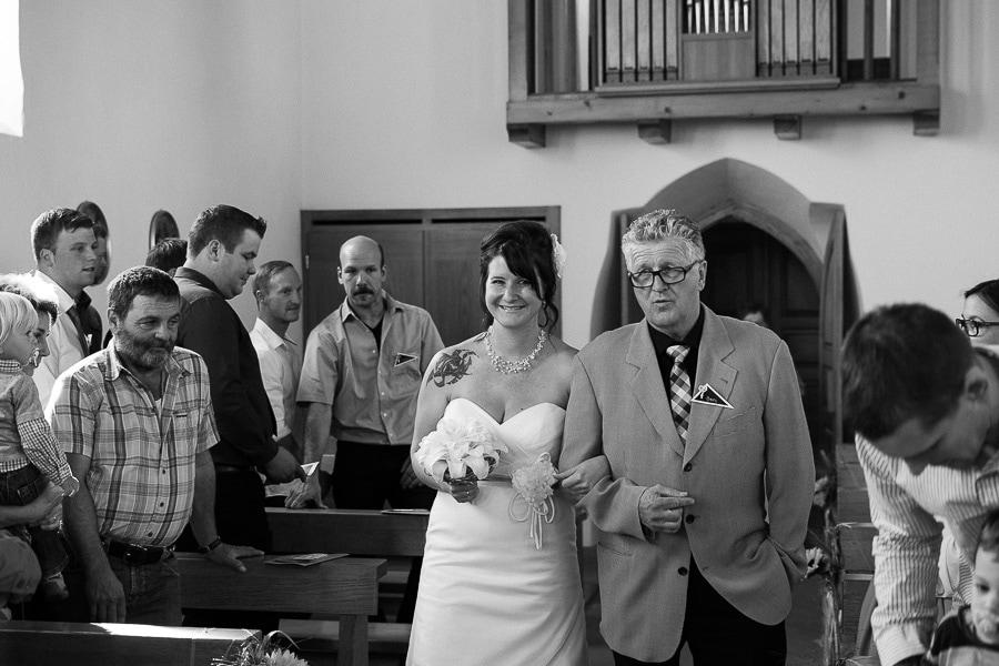 Einzug Braut