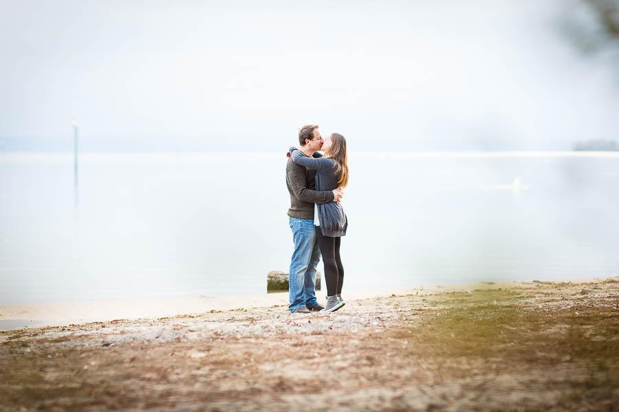 verliebtes paar in fischbach