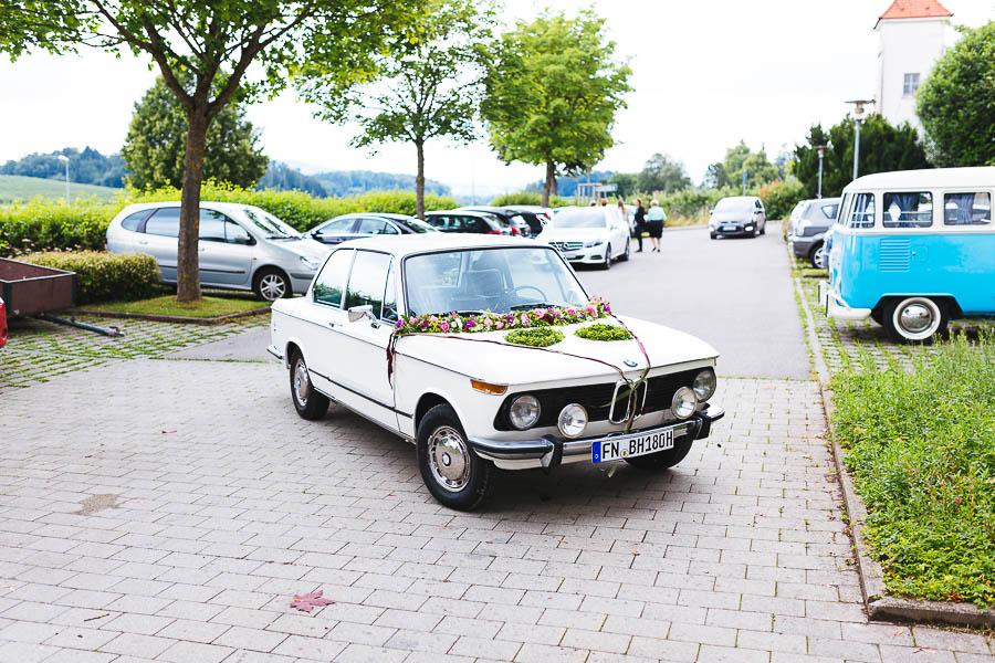 BMW Hochzeitsauto