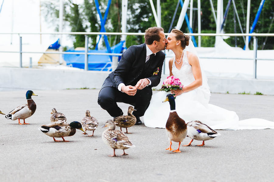 Enten Hochzeit