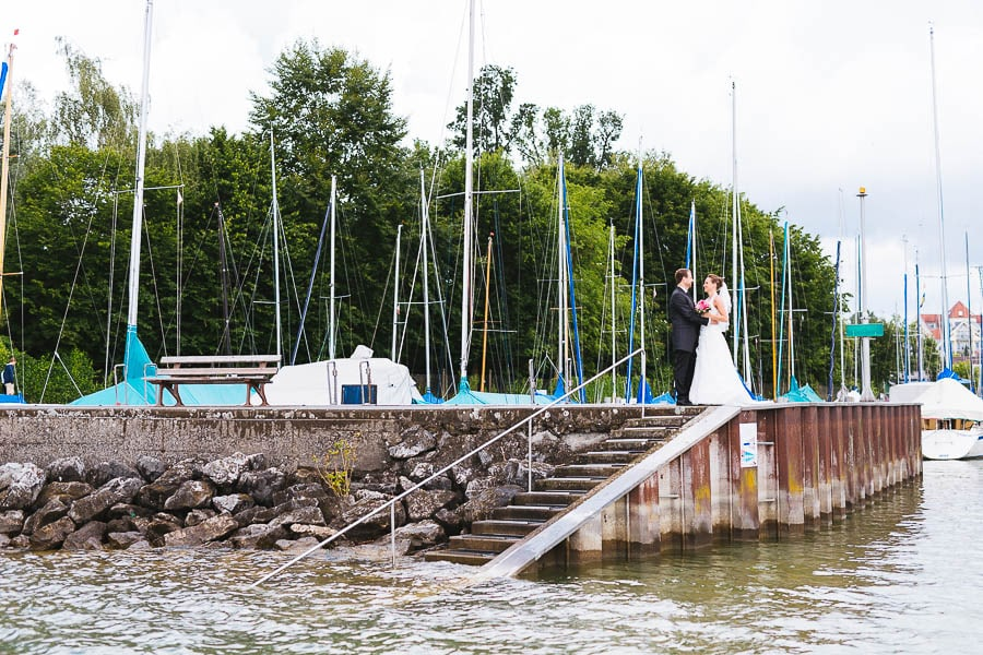 Hochzeit vom See