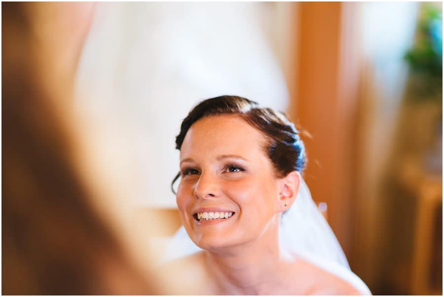 Braut Glücklich