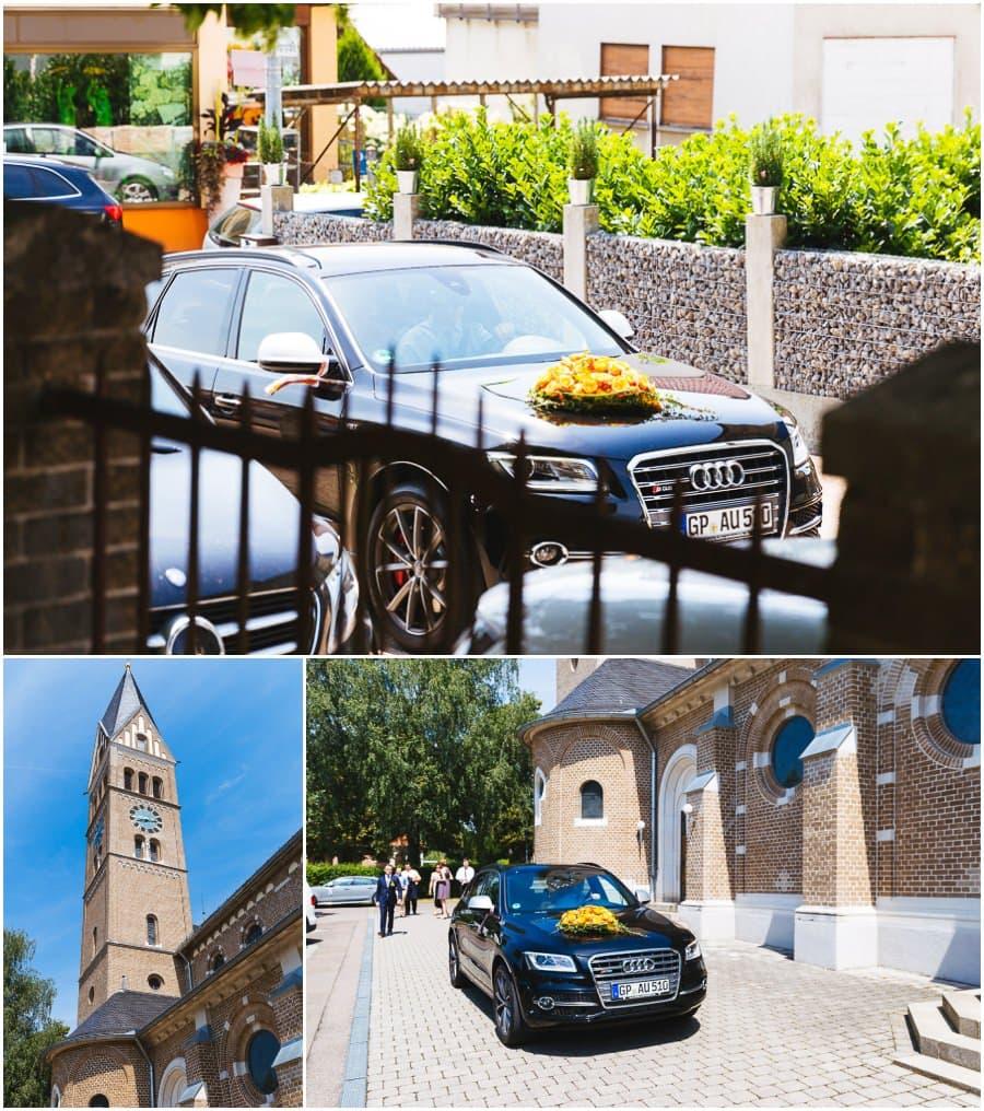 Hochzeitsauto Audi