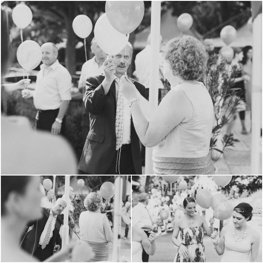 Luftbalons Hochzeit