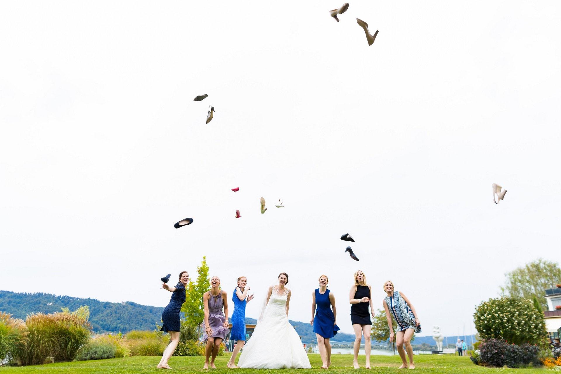 Hochzeit in Ludwigshafen am Bodensee Gruppenbild Hochzeit