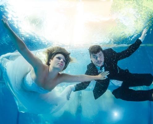 Unterwasser After-Wedding