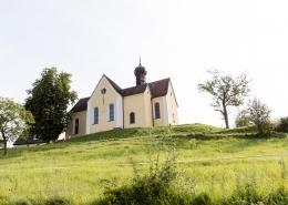 an einem warmen Sommertag im Juli feierten Britta und Jonas ihre Hochzeit in der Wallfahrtskirche Baitenhausen am Bodensee.