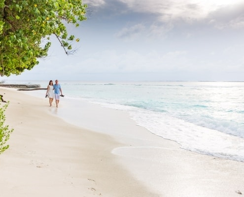 Paarshooting auf den Malediven - Bandos Island Resort